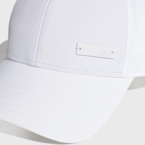Base Ball Metal Cap _ 168249 _ White