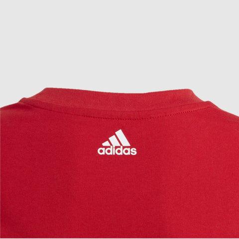 Linear Colourblock Tshirt _ 168320 _ Red