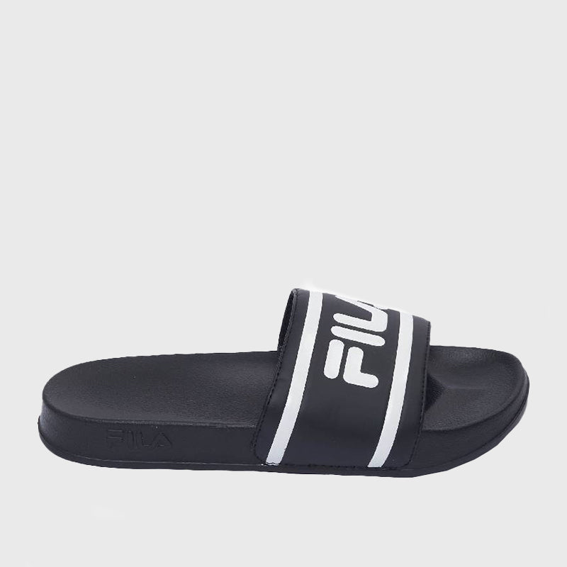 Deckle Stripe Slides _ 168712 _ Black