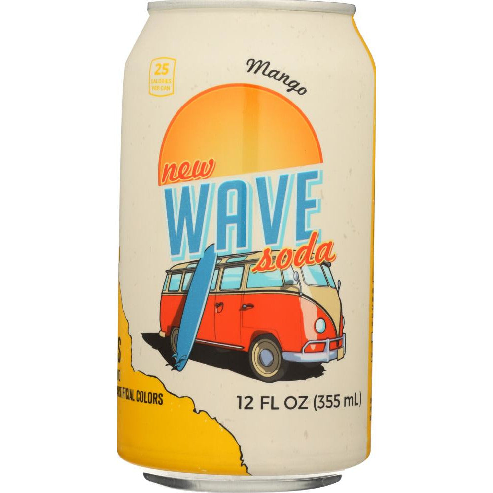 Wave Soda: Mango Soda, 12 Fl Oz