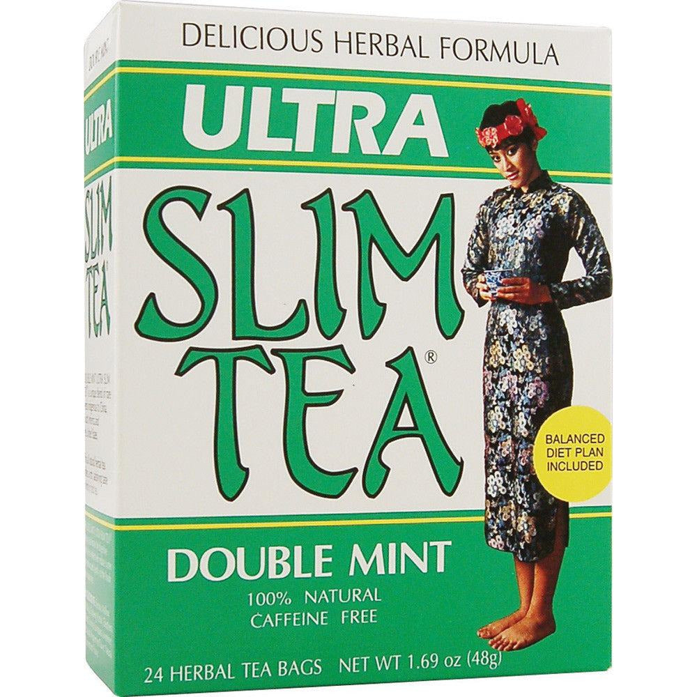 Hobe: Tea Slim Ultra Double Mint, 24 Bg