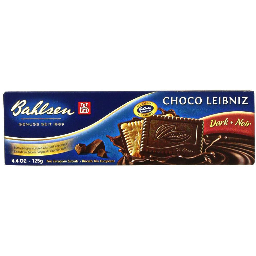 Bahlsen: Choco Leibniz Dark Chocolate Biscuits , 4.4 Oz