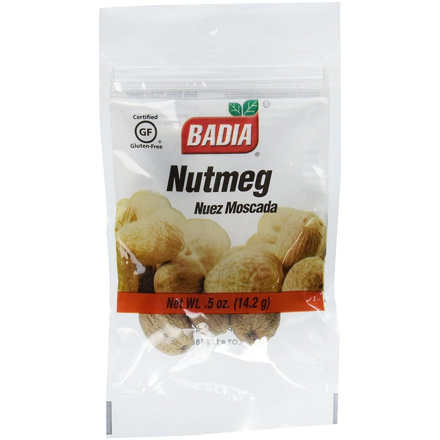 Badia: Whole Nutmeg, 0.5 Oz