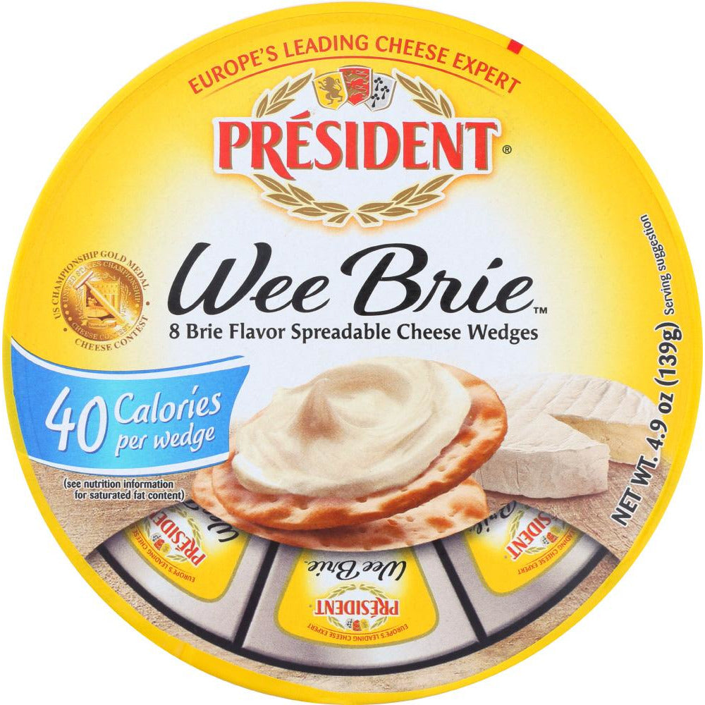 President: Cheese Brie Wee, 4.9 Oz