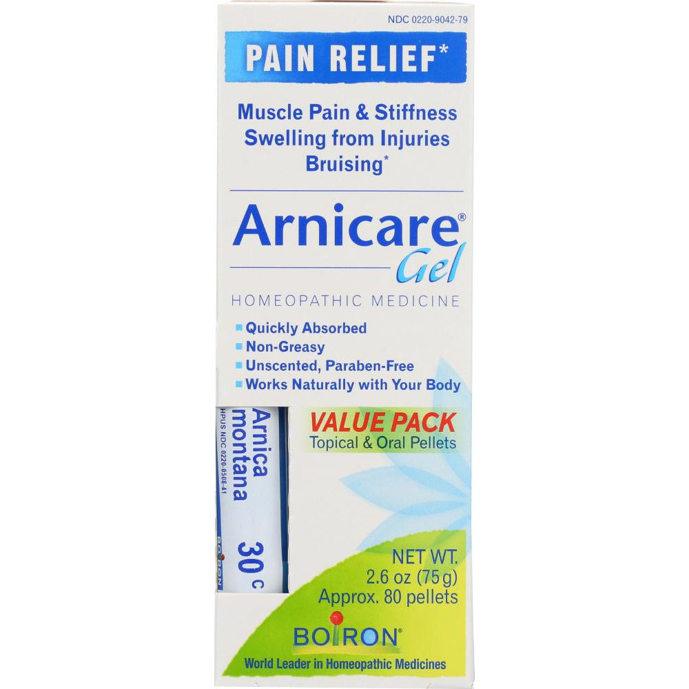 Boiron: Arnicare Gel With Multi Dose Gel For Muscle Aches, 2.6 Oz