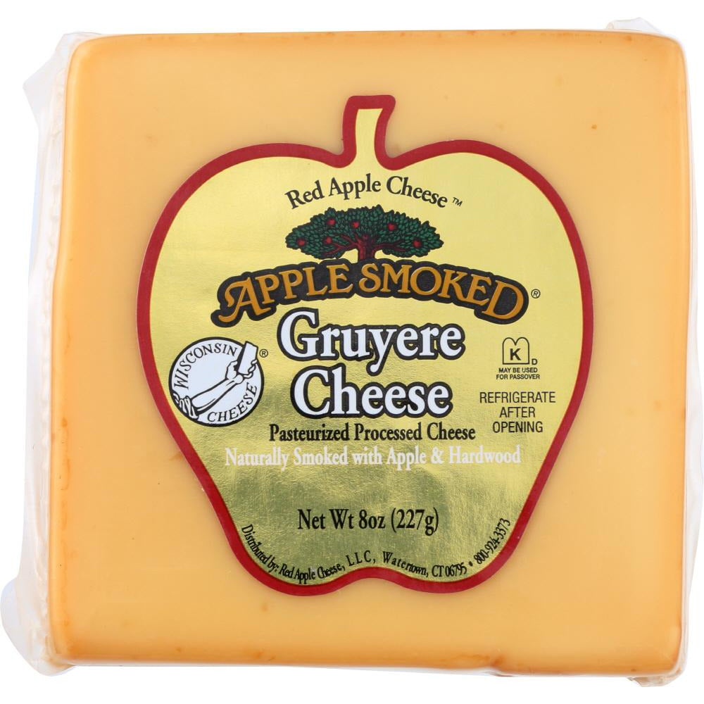 Apple Smoked: Gruyere Cheese, 8 Oz