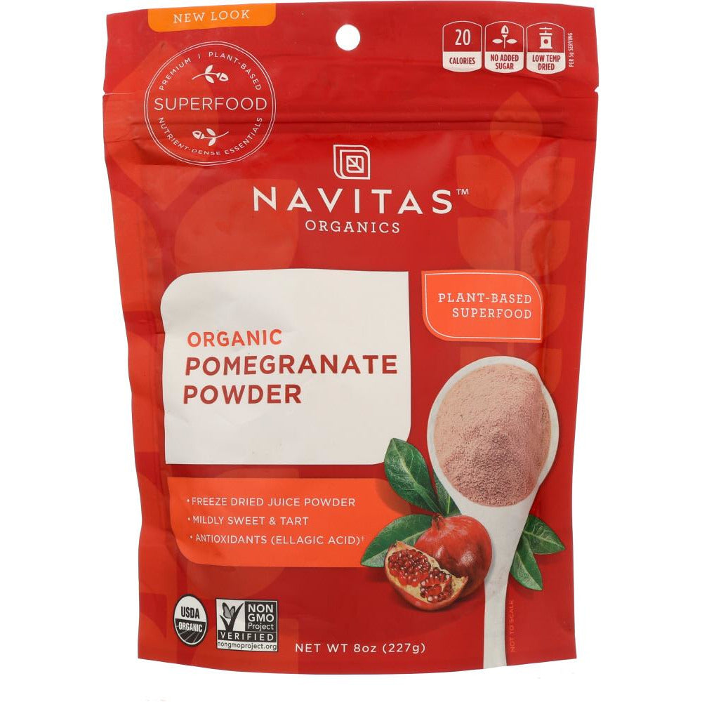 Navitas: Organic Pomegranate Powder, 8 Oz
