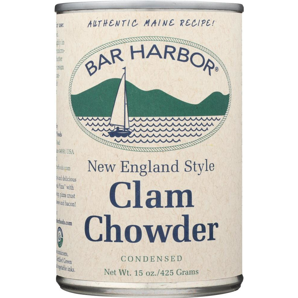 Bar Harbor: Clam Chowder New England Style, 15 Oz