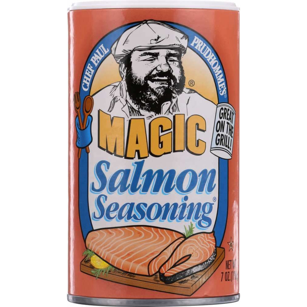 Chef Paul Prudhomme's: Magic Salmon Seasoning, 7 Oz