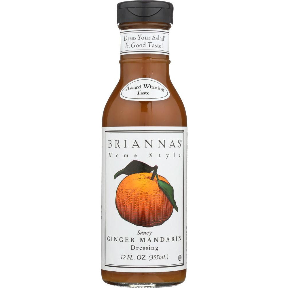Briannas: Home Style Saucy Ginger Mandarin Dressing, 12 Oz