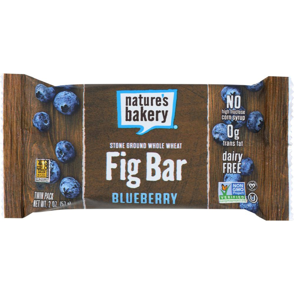 Nature's Bakery: Whole Wheat Blueberry Fig Bar Twin Pack, 2 Oz