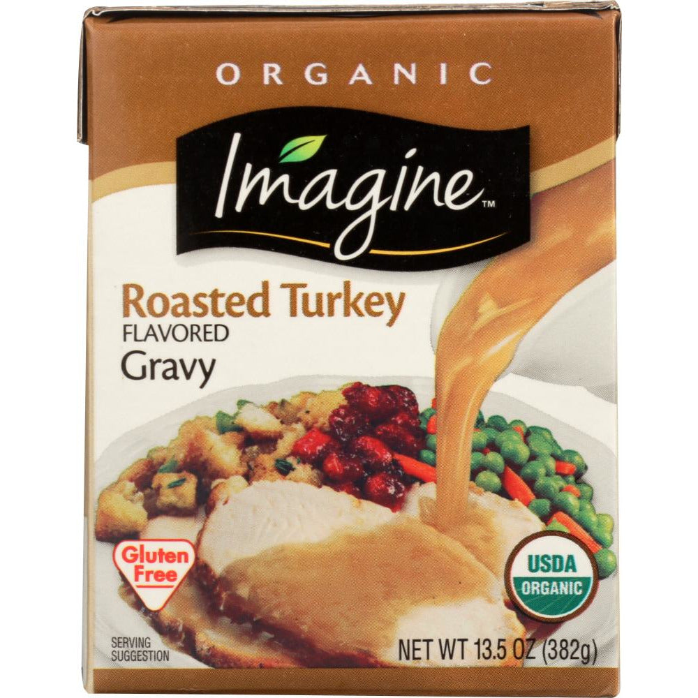 Imagine: Foods Organic Roasted Turkey Flavored Gravy, 13.5 Oz