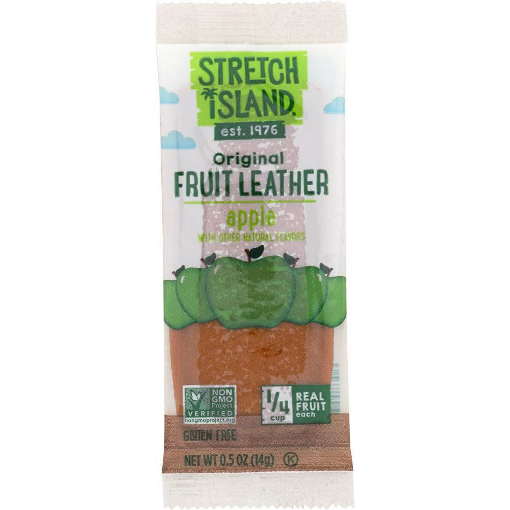 Stretch Island: All Natural Fruit Strip Autumn Apple, 0.5 Oz