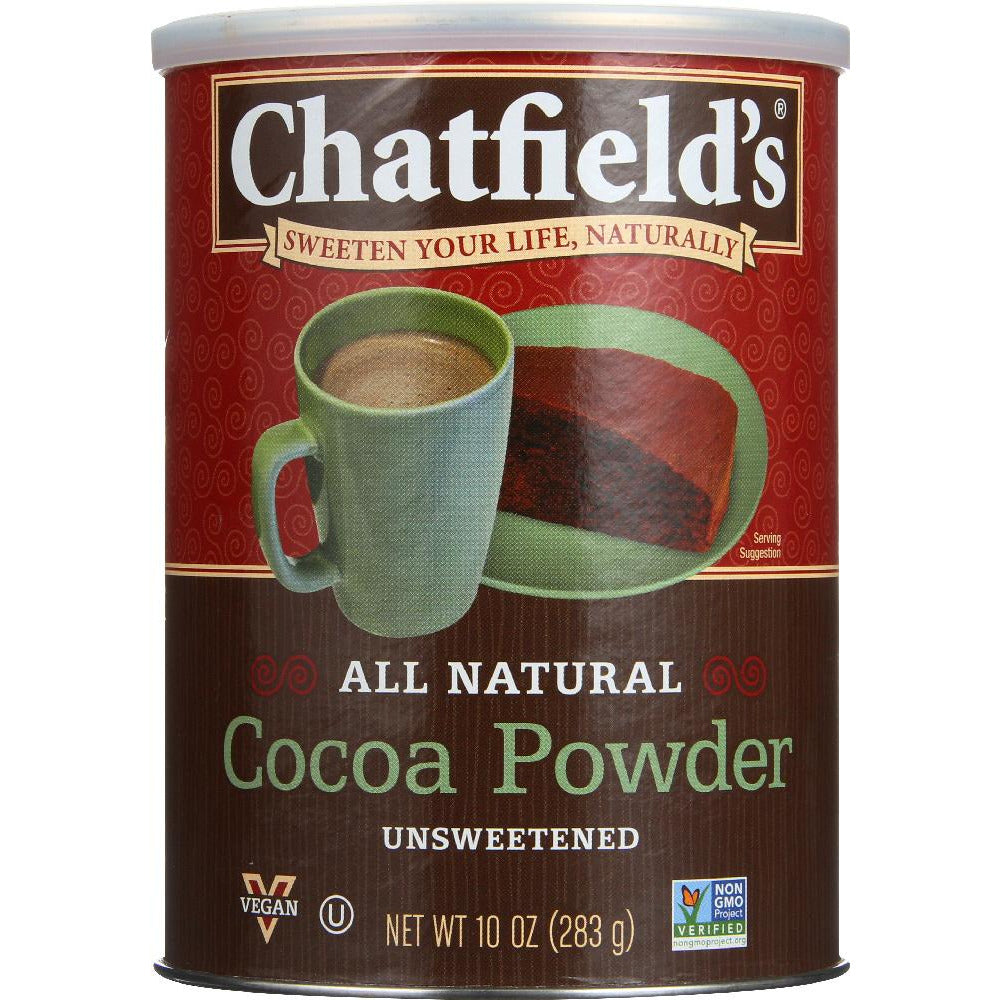 Chatfields: All Natural Cocoa Powder Unsweetened, 10 Oz