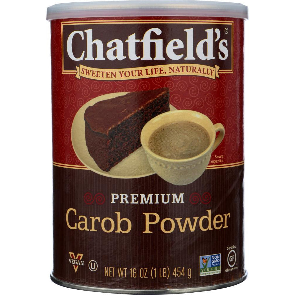 Chatfields: All Natural Carob Powder, 16 Oz