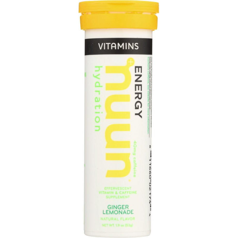 Nuun: Drink Tab Ginger Lemonade, 12 Tb
