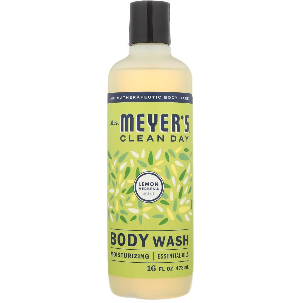 Mrs Meyers Clean Day: Wash Body Lemon Verbana, 16 Fo