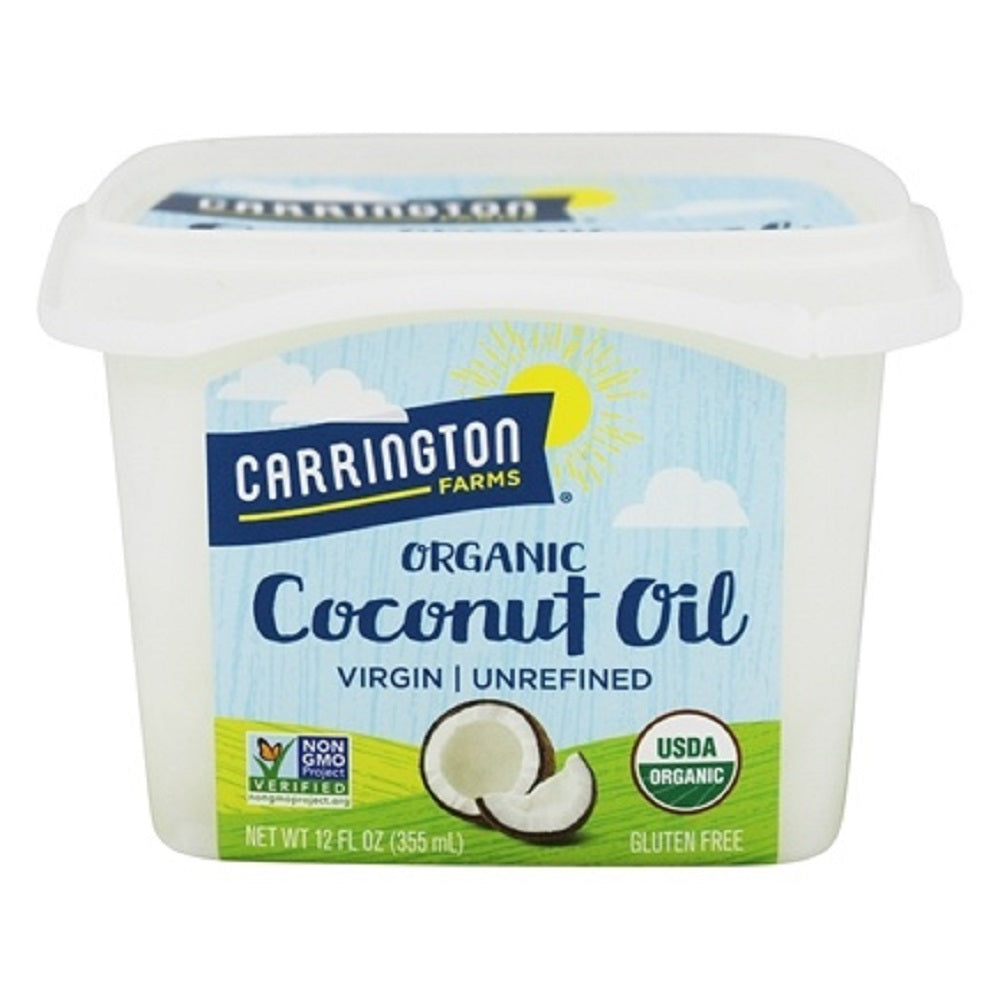 Carrington Farms: Organic Extra Virgin Coconut Oil, 12 Oz