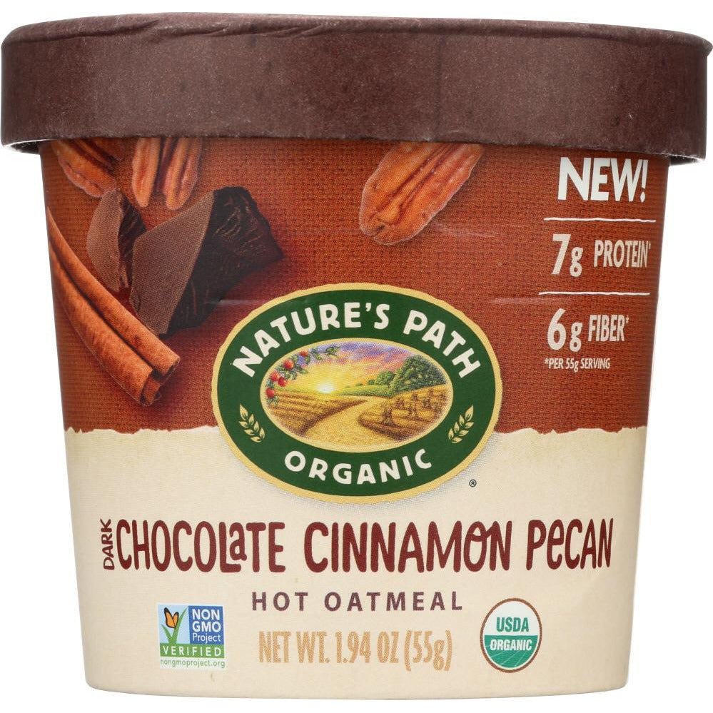 Natures Path: Oatmeal Cup Choc Cinn Pcn (1.940 Oz)