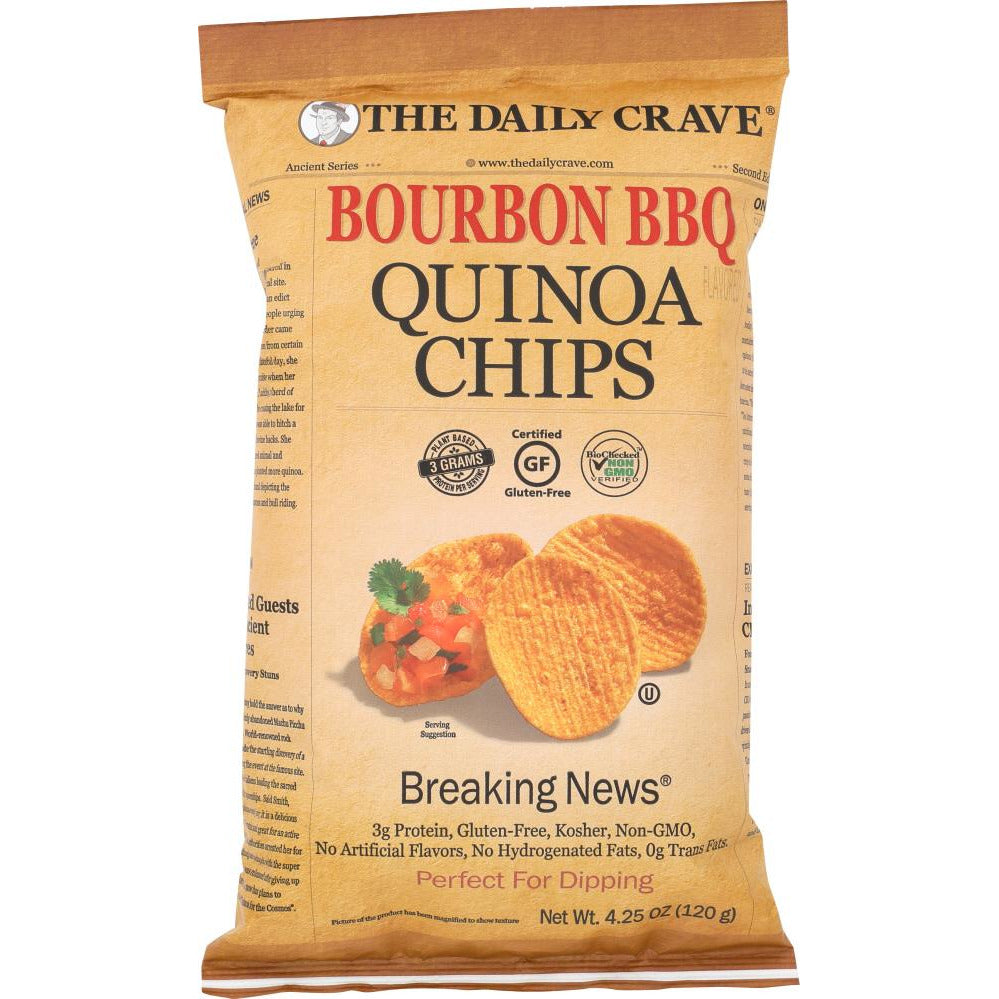 The Daily Crave: Chip Quinoa Bourbon Bbq, 4.25 Oz