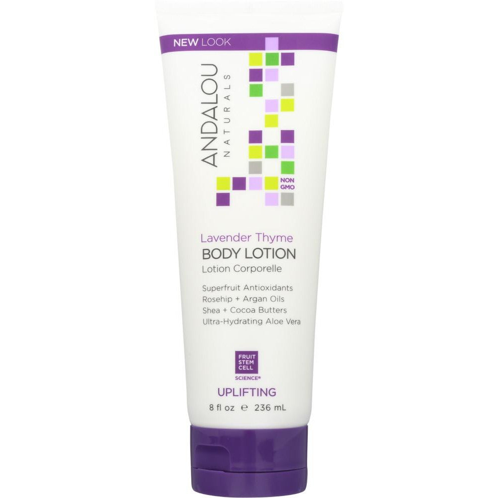 Andalou Naturals: Body Lotion Refreshing Lavender And Thyme, 8 Oz