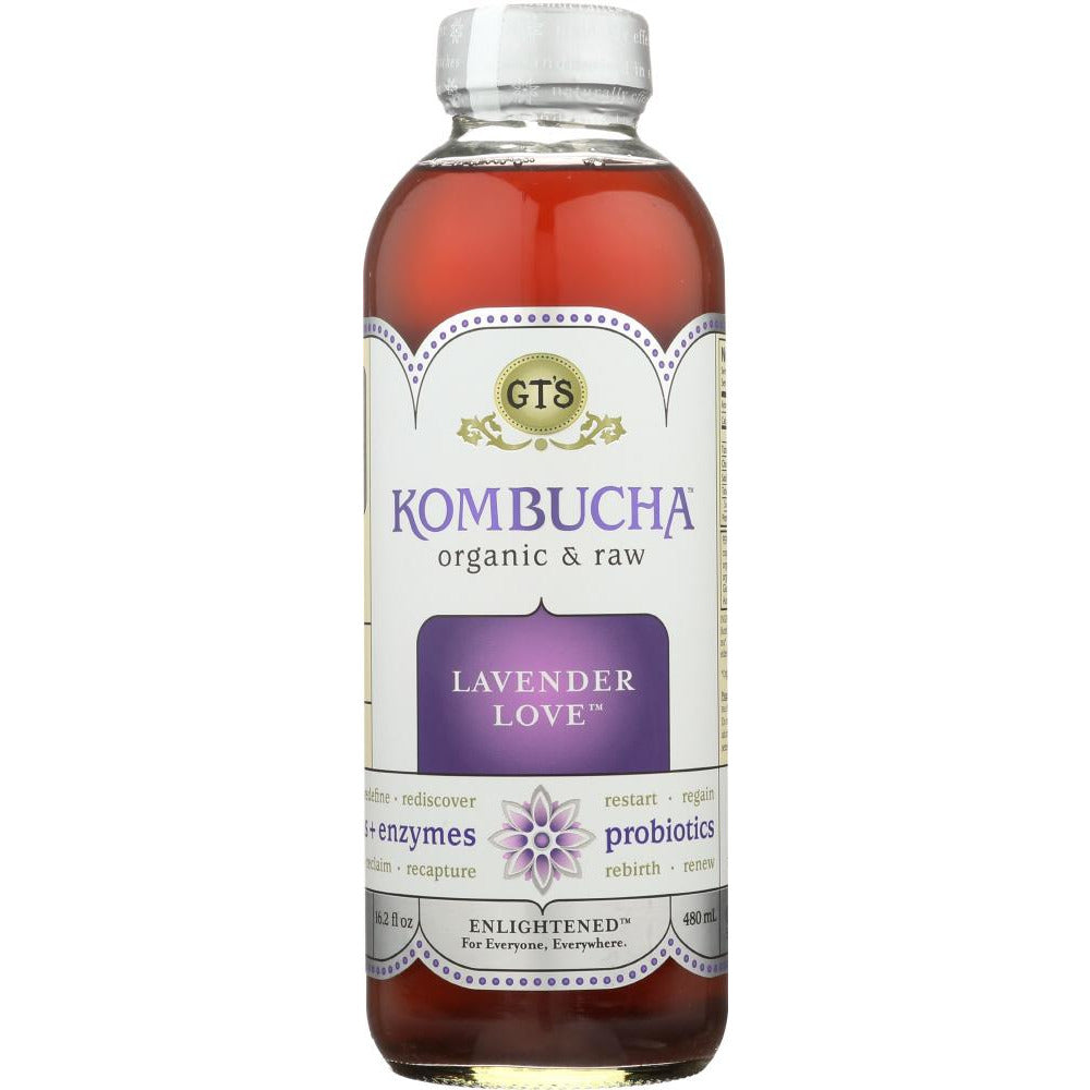 Gt's Enlightened: Kombucha Organic Botanic #3, 16 Oz