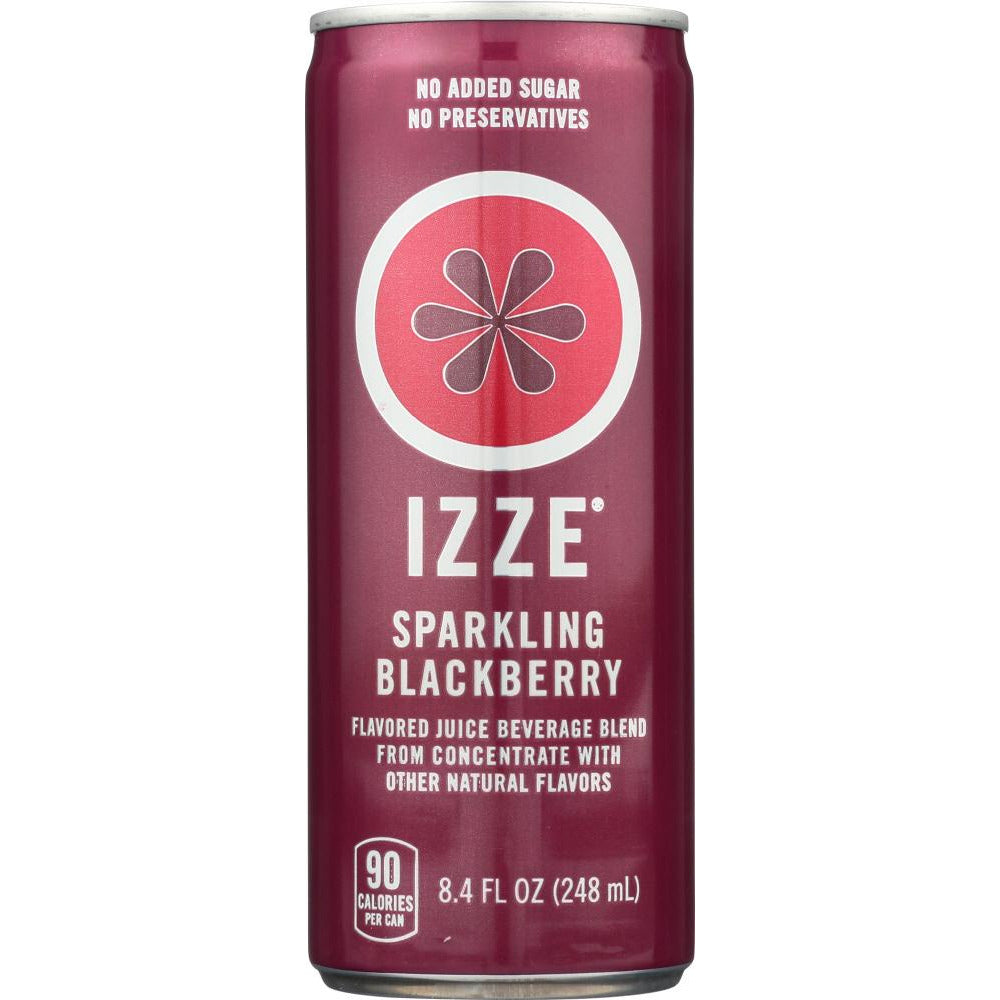 Izze: Sparkling Blackberry Flavored Juice Beverage, 8.4 Oz