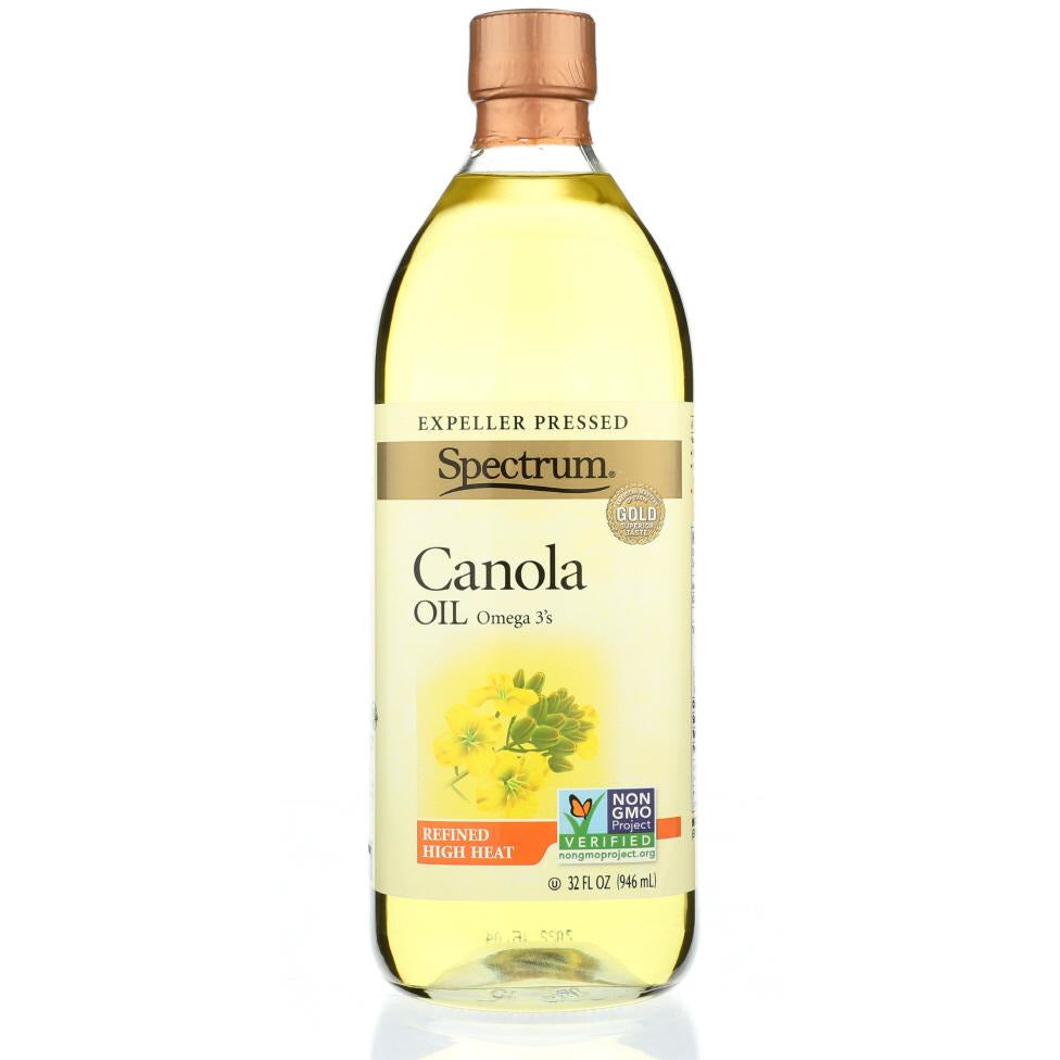 Spectrum Naturals: Refined Canola Oil, 32 Oz