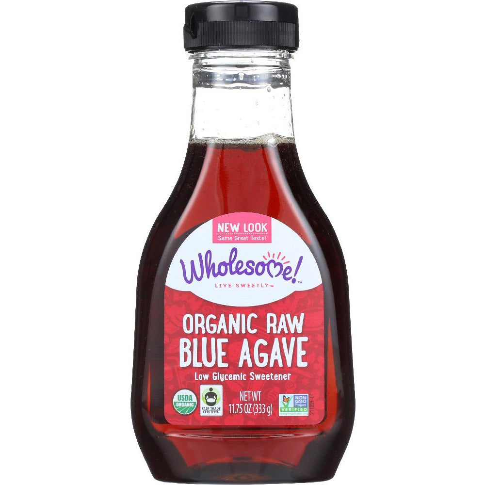 Wholesome Sweeteners: Organic Raw Blue Agave, 11.75 Oz