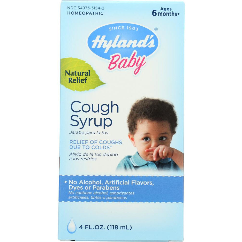 Hyland's: Baby Cough Syrup, 4 Oz