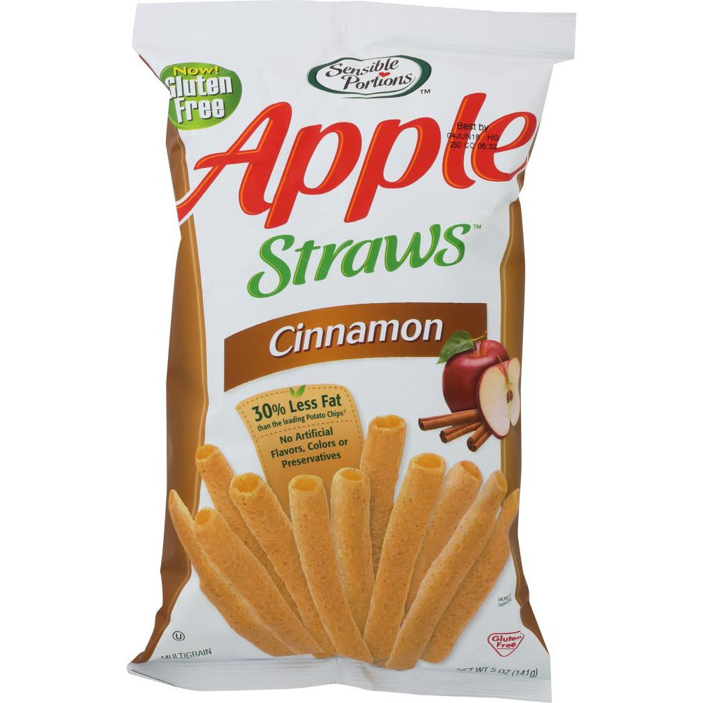 Sensible Portions: Straw Cinnamon Apple, 5 Oz