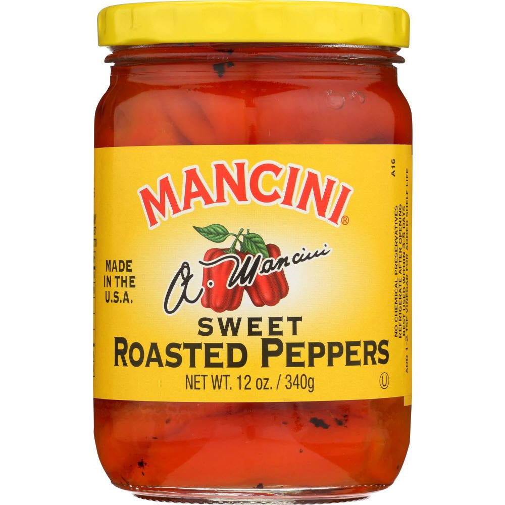 Mancini: Sweet Roasted Peppers, 12 Oz