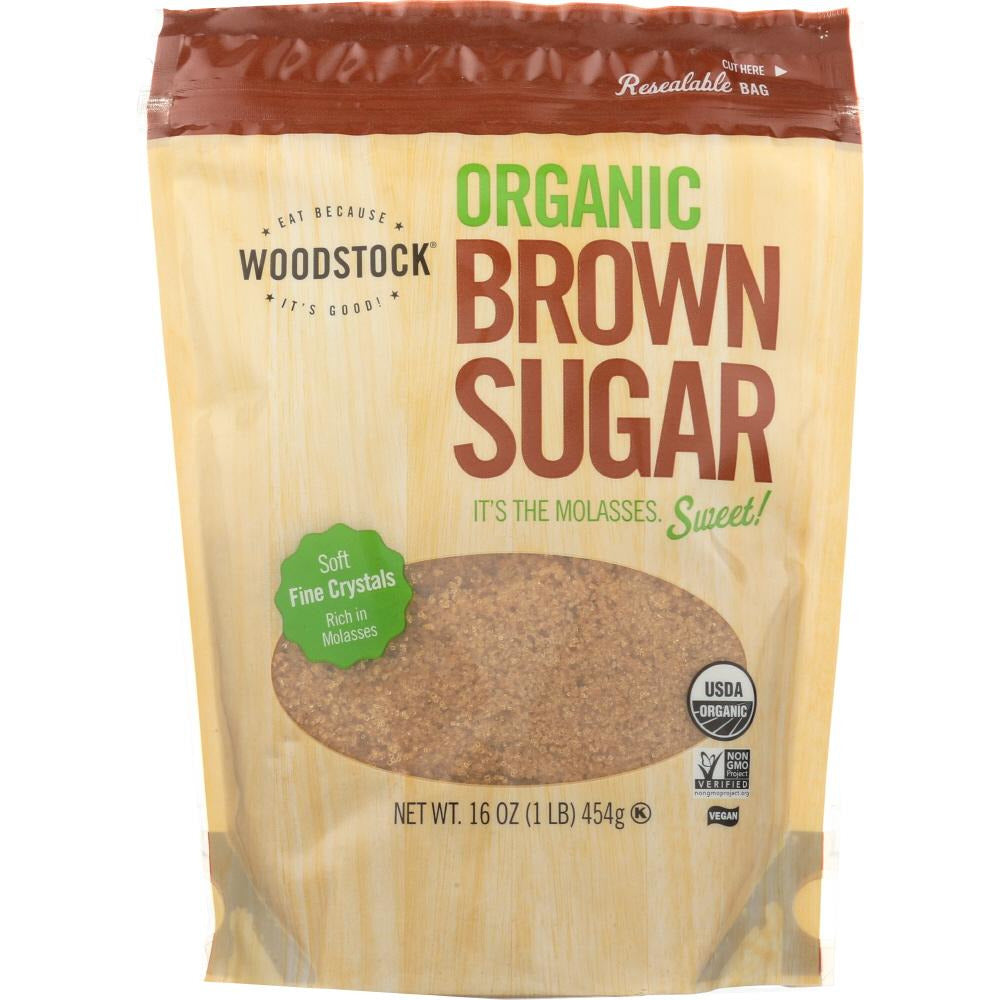 Woodstock: Brown Sugar Organic Sweet, 16 Oz