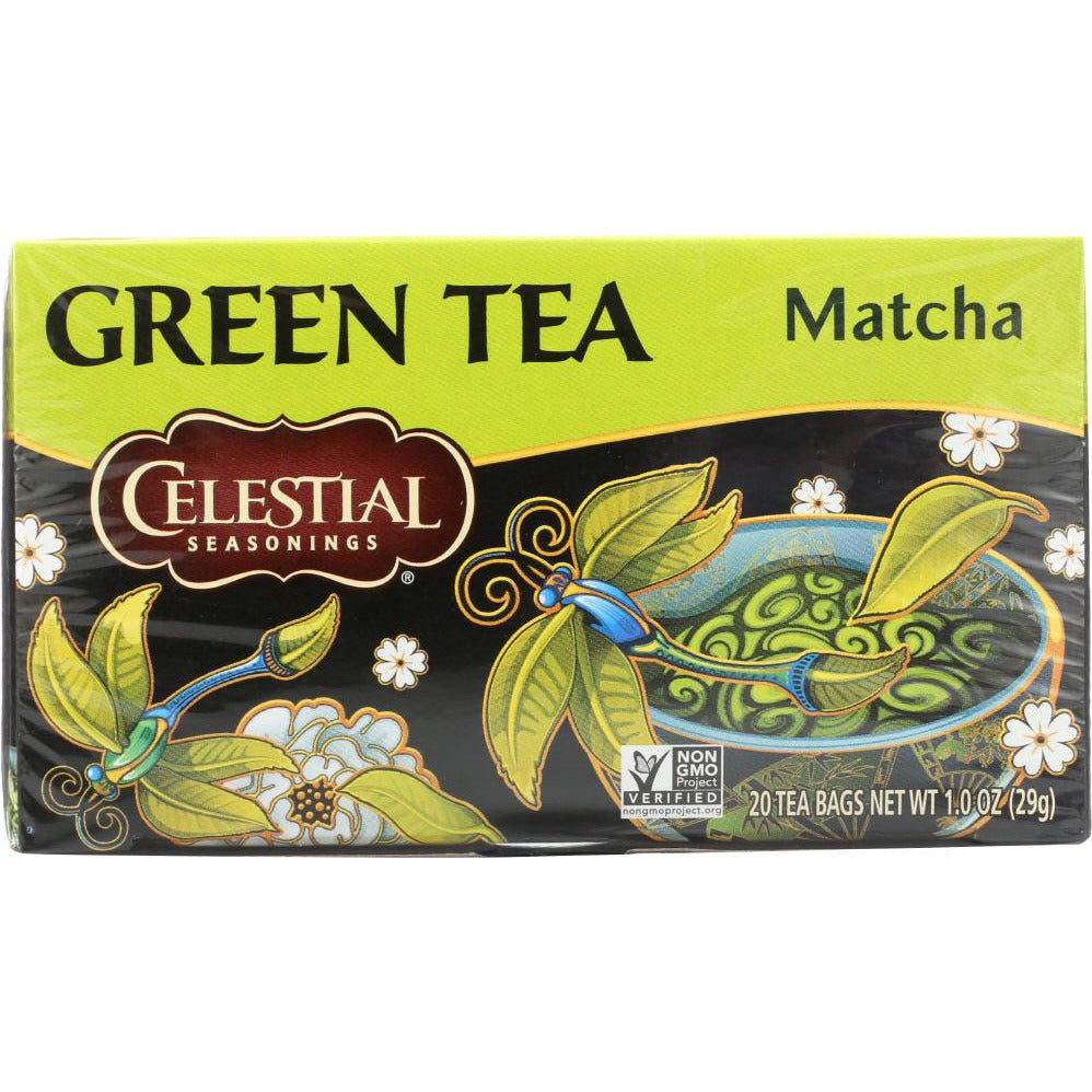Celestial Seasonings: Green Matcha Tea Pack Of 20, 1 Oz