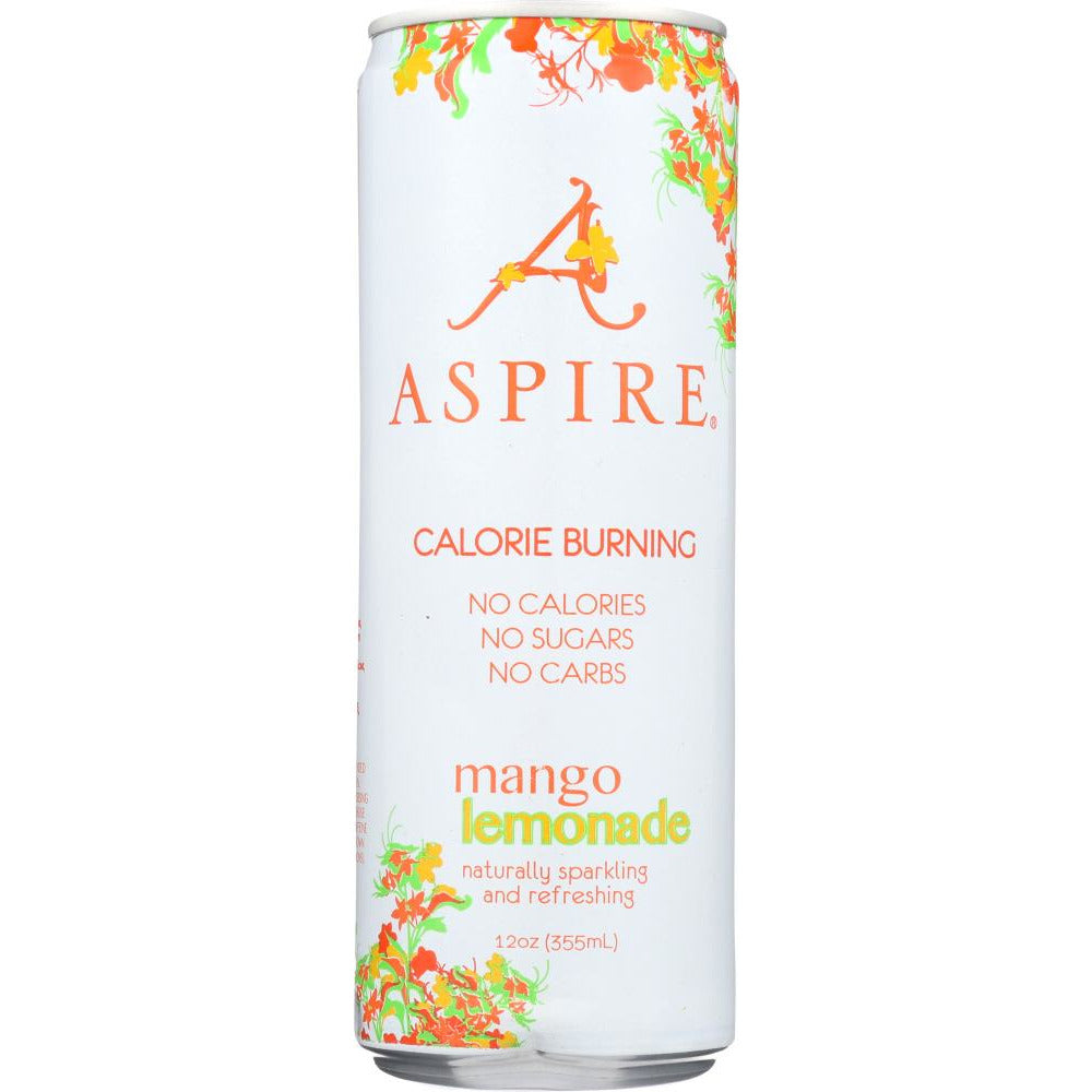 Aspire: Energy Drink Mango Lemonade Single, 12 Fo