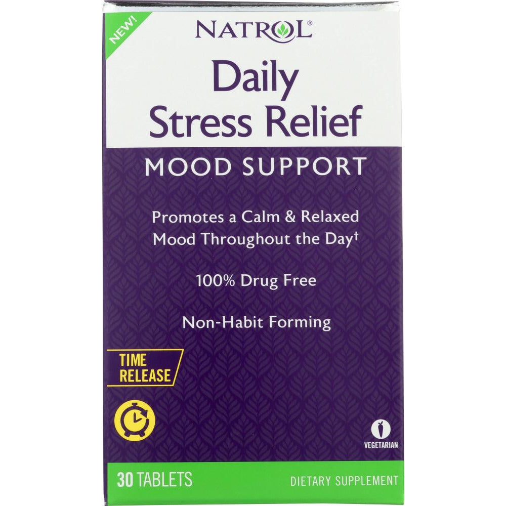 Natrol: Daily Stress Relief, 30 Tb