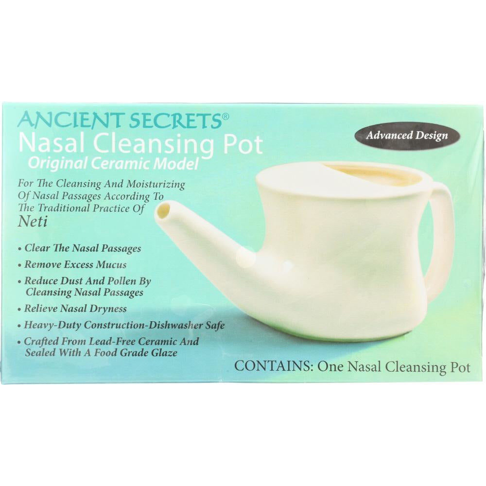 Ancient Secrets: Pot Neti, 1 Ea