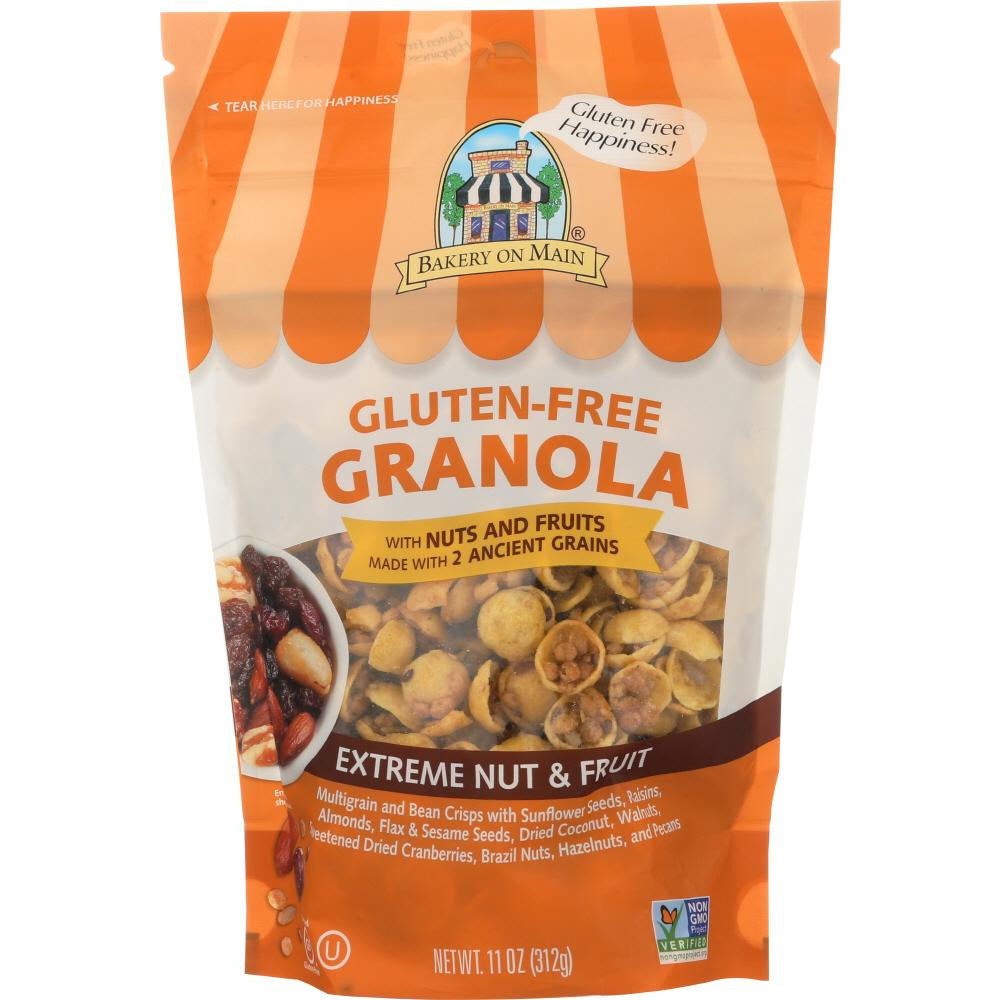 Bakery On Main: Gluten Free Granola Extreme Nut & Fruit, 11 Oz