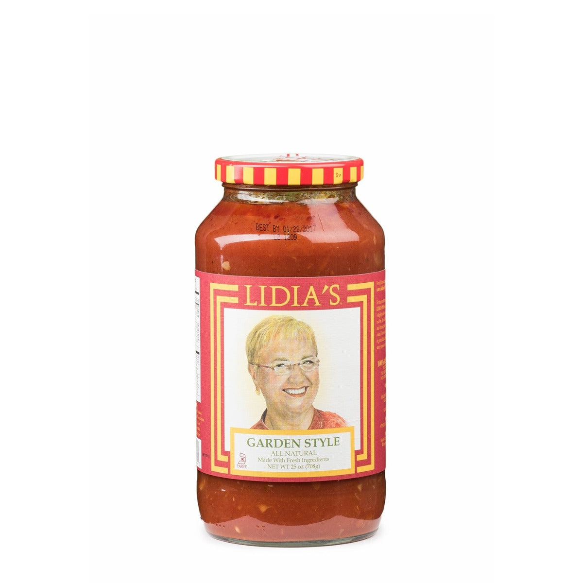 Lidias: Garden Vegetable Pasta Sauce, 25 Oz