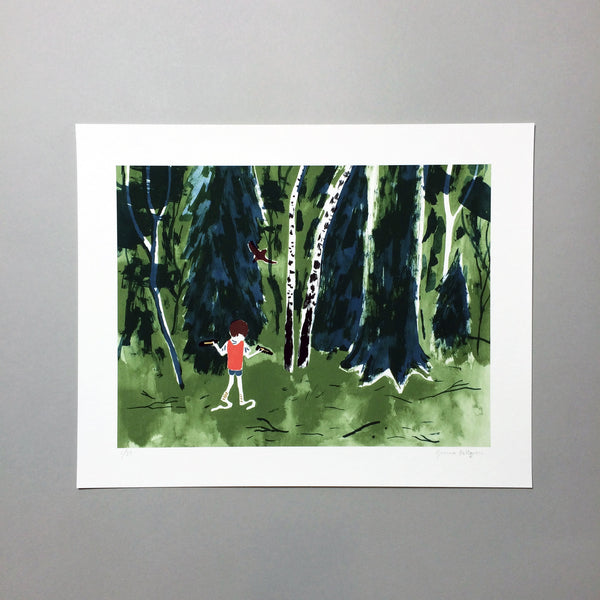 Joanna Hellgren The Forest Edge Limited Edition Giclee Print Tove Pierrou