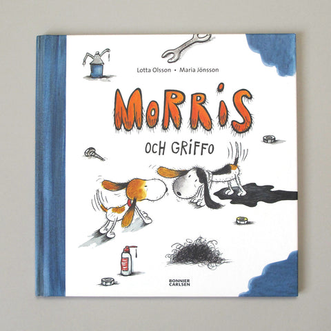 Maria Jönsson Illustration Children's Book Morris och Griffo Lotta Olsson