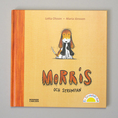 Maria Jönsson Illustration Children's Book Morris och strumpan Lotta Olsson