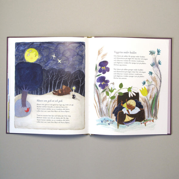 Sara Gimbergsson illustration Children's book Min Lilla Skattkammare