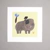 Sara Gimbergsson Illustration Art Print Picture Book Min stora elefant