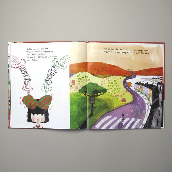 Sara Lundberg Illustration Childrens book Vita Streck