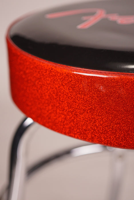 "Fender Red Sparkle 24"" Barstool"