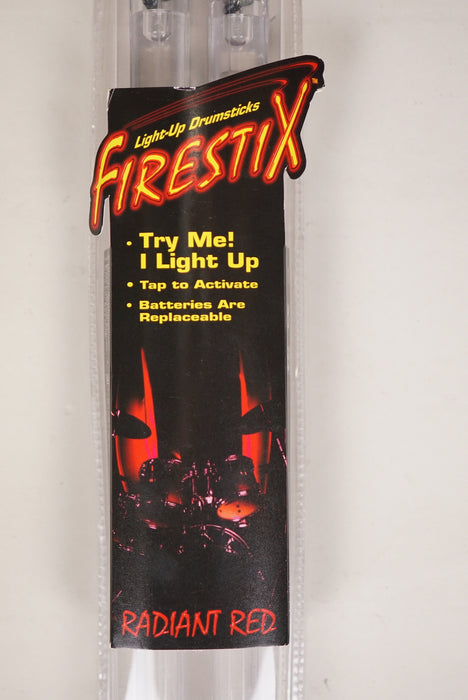 Firestix Light Up Drum Sticks Radient Red