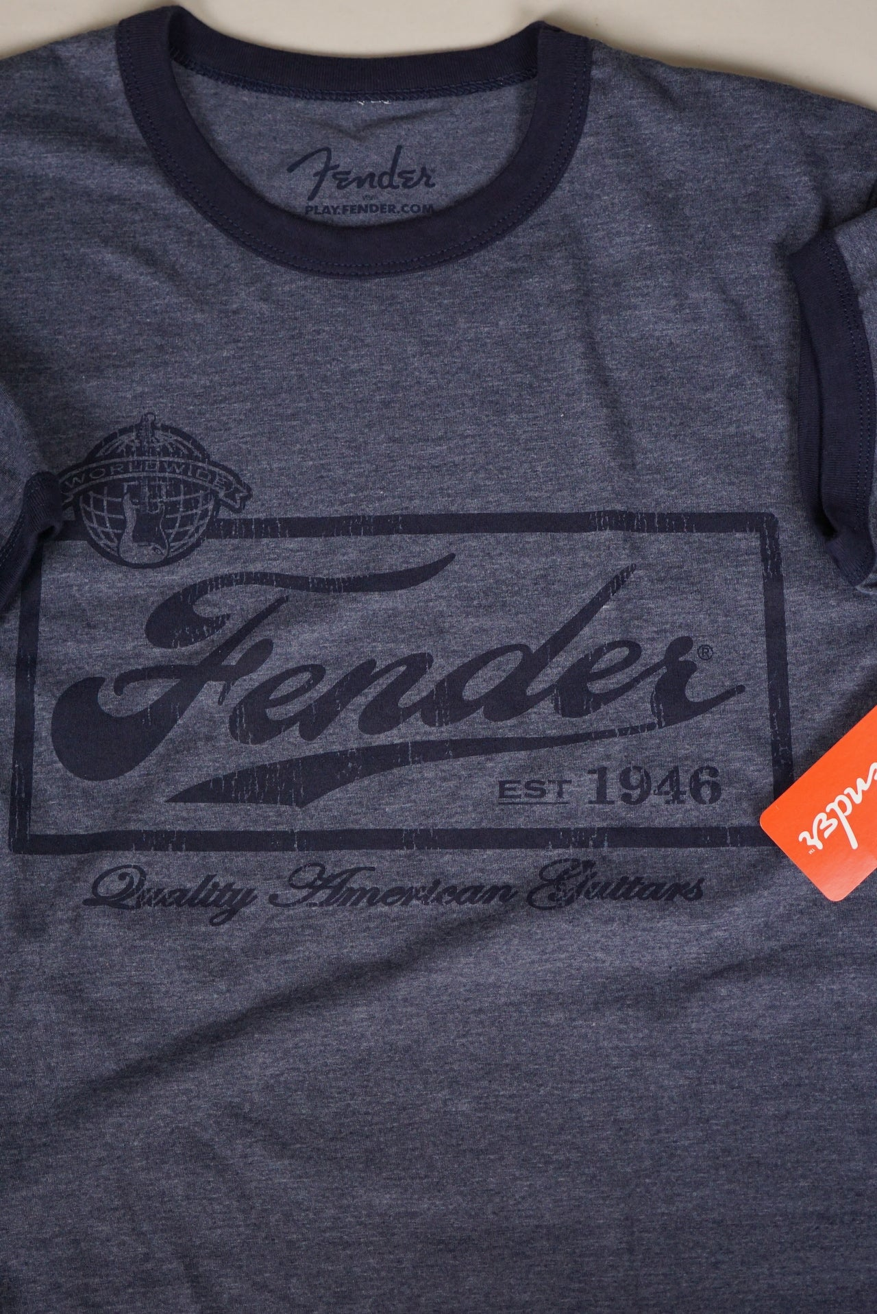 Fender Beer Label Mens Tee