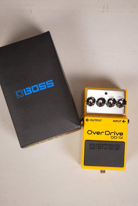 USED Boss OD-1X Overdrive