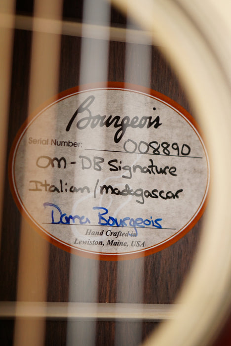 Bourgeois OM DB Signature Legacy Series